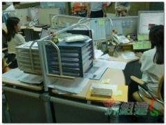 辦公家具-震旦-環形三人工作站