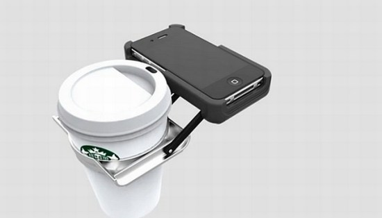 手機飲料架