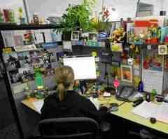 雜亂的辦公室