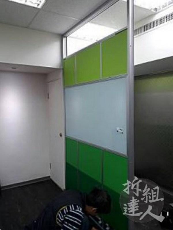 辦公屏風,高隔間,LOGO牆
