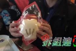 """""""""""""""東京迪士尼樂園,米奇手套刈包"""
