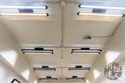 辦公室裝修,LED造型雙色吊燈