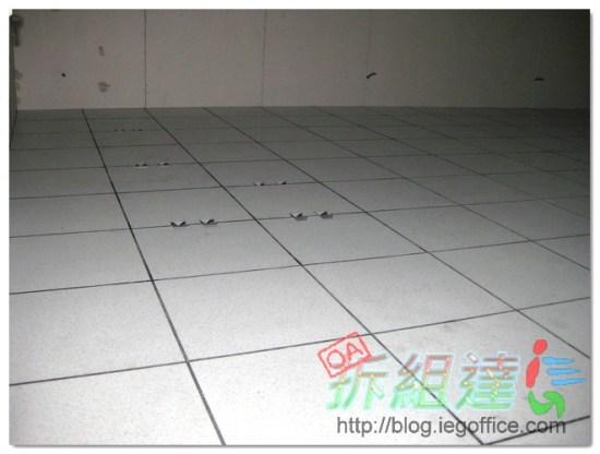 OA辦公室裝修-高架地板