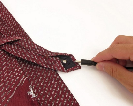 USB Necktie With Cooling Fan