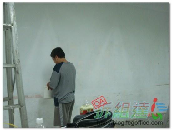 辦公室裝修,油漆工程