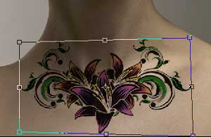 Cara buat tattoo temporary