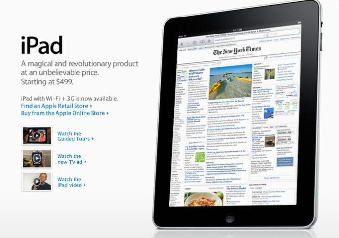 Original Ipad 2010 Apple