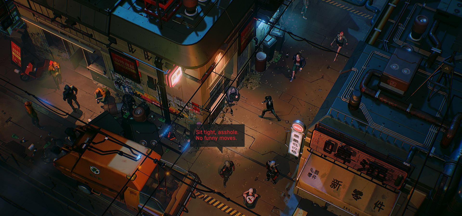 RUINER is set in a cyberpunk future in the year 2091