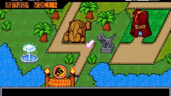 Jurassic Park III: Park Build