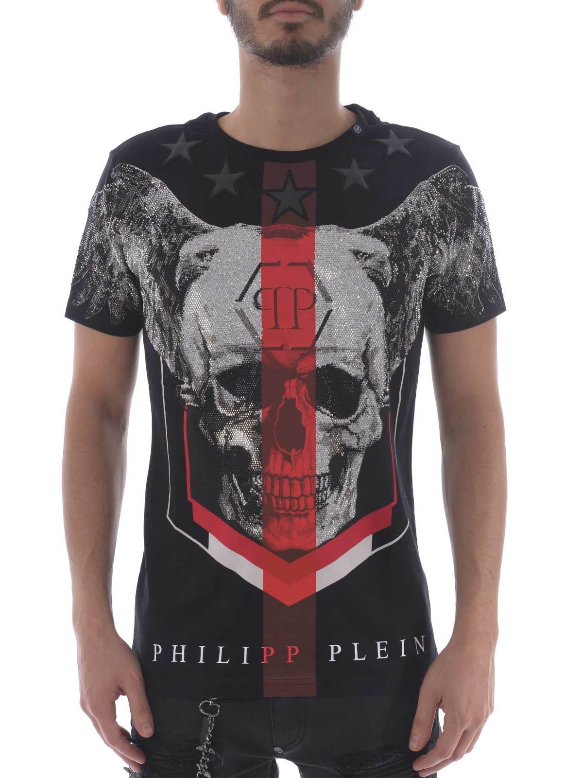Philipp Plein Church S Black T Shirt T Shirts