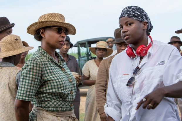 Dee Rees and Mary J Blige in Mudbound (Netflix, JG)