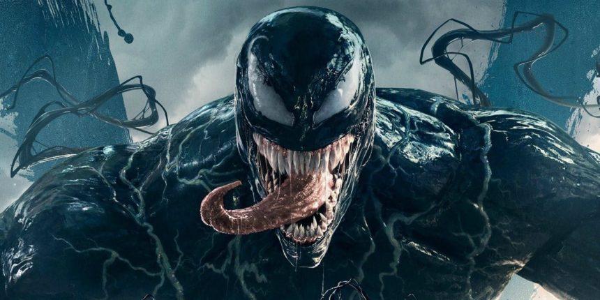Tom Hardy's venom (Sony, HF)