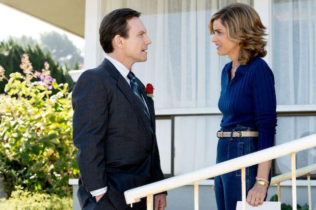 Amanda Peet and Christian Slater in Dirty John season 2