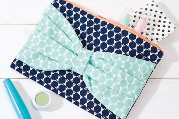 How to sew a clutch bag pattern