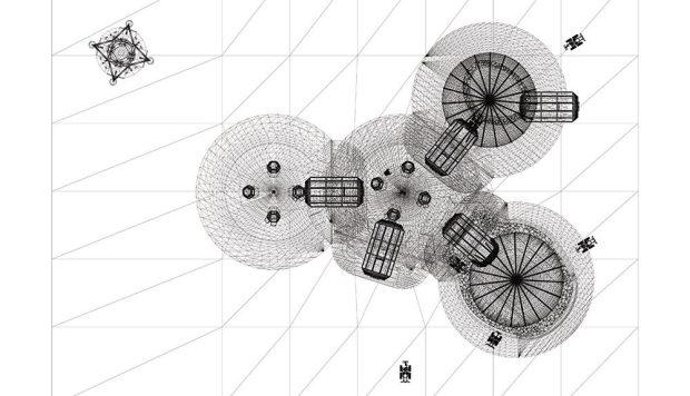План лунной базы от Foster + Partners