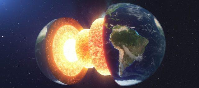 Earth Core © Getty