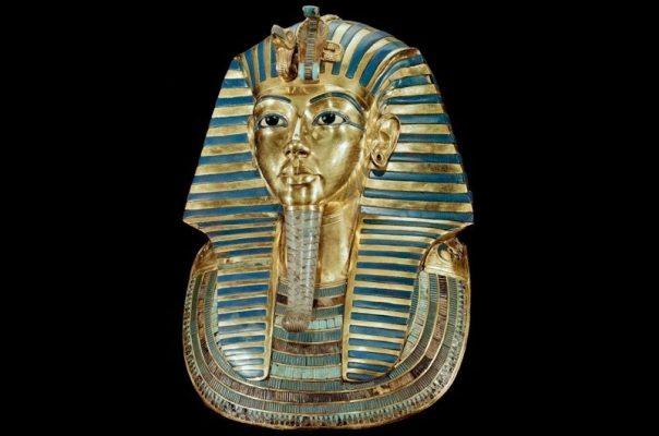 Tutankhamun's golden funeral mask. (Leemage/Corbis via Getty Images)