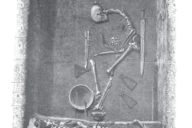 The grave of a Viking supposed warrior has always been assumed to be male since its excavation in 1878. (Image by Alamy)