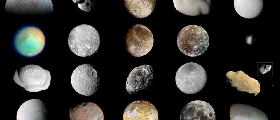 20 of the most amazing moons in the Solar System BBC