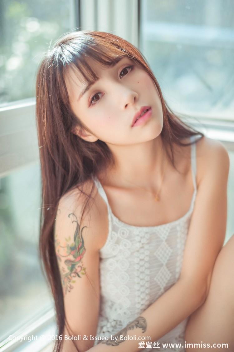 [Bololi波萝社]新刊 2017.04.02 BOL.040 夏美酱 白裙夏美