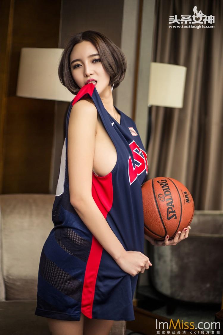 [TouTiao头条女神] 2016.04.22 篮球宝贝 文雪 [14+1P]