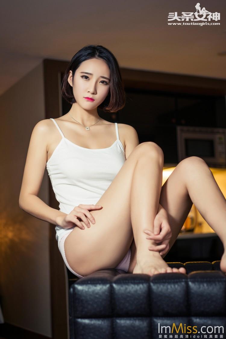 [TouTiao头条女神] 2016.05.06 黄昏的邂逅 秦家大小姐秦若兮 [58+1P]