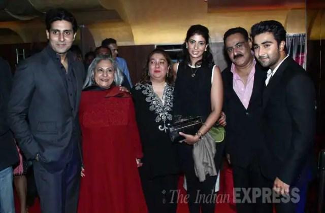 SRK, Gauri, Ranbir, Rekha, Kapoors at Armaan Jain's 'Lekar Hum Deewana Dil' premiere
