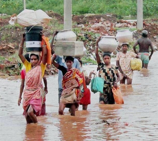 PHOTOS: Odisha floods continue to affect people | The ...