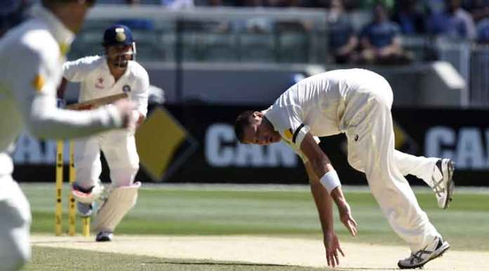 ryan harris during the ashes series