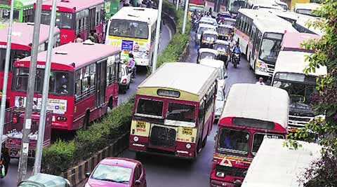 For Every Bus Parked At Pmpml Depots Another Stands Outside The Indian Express
