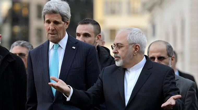 Image result for photos of Javad Zarif and john kerry
