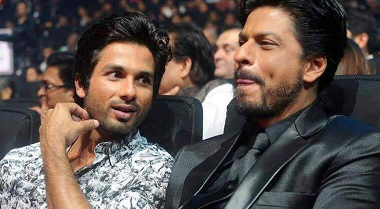 Image result for shahid kapoor shahrukh khan