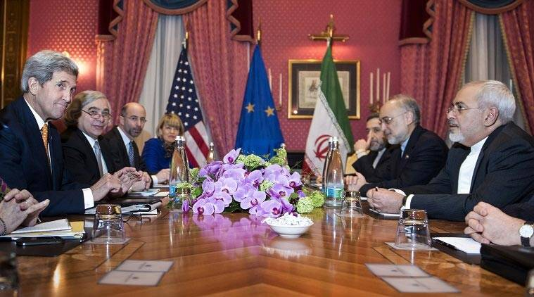 Image result for john kerry and Iranian negotiations photo