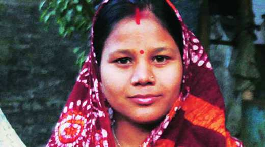 Rebeka Khatun is now Meenakshi Naskar in Lakshminarayanpur, South 24 Parganas. (Express Photo by: Subham Dutta)