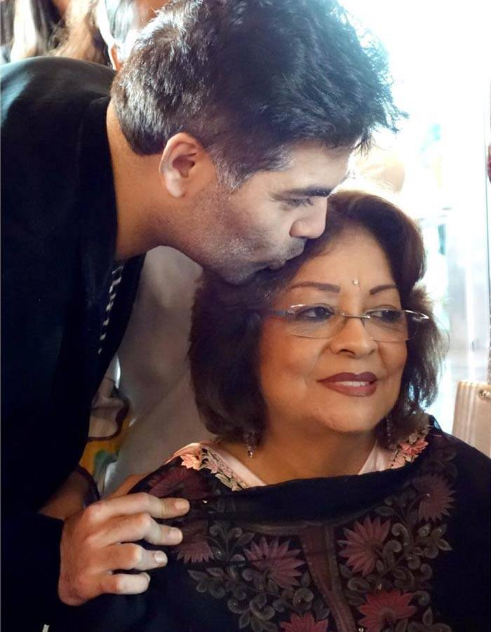 Image result for karan johar mother