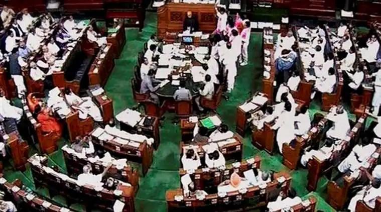 lok sabha session, lok sabha speaker, suspends 27 opposition MP, MP Suspend for 5 days, Opposition MP Suspend for 5 days, lok sabha news, lok sabha news latest, lok sabha news today, Sumitra Mahajan