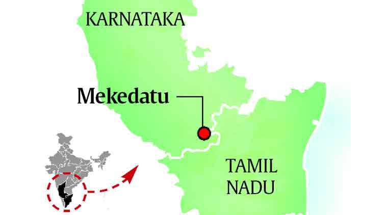 Image result for mekedatu dam project