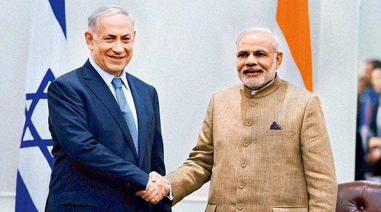 Image result for israel india modi