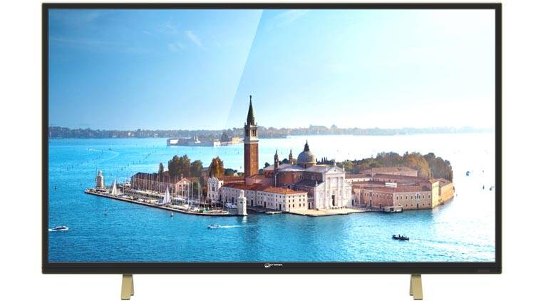 Micromax, Micromax LED TV, Micromax Informatics, Micromax 43-inch full HD LED TV, Micromax LED TV specs, Micromax LED TV features, Micromax LED TV specifications, Micromax LED TV price, DLED backlight, Full HD, gadget news, tech news, technology