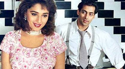 Image result for images of madhuri dixit and salman khan