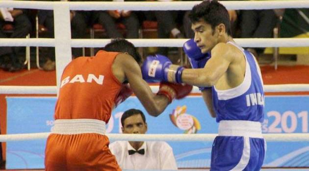 South Asian Games  India boxers complete gold sweep   The Indian Express South Asian Games  South Asian Games 2016  SAG  SAG 2016  India boxers