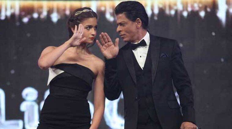Image result for shahrukh and alia bhatt