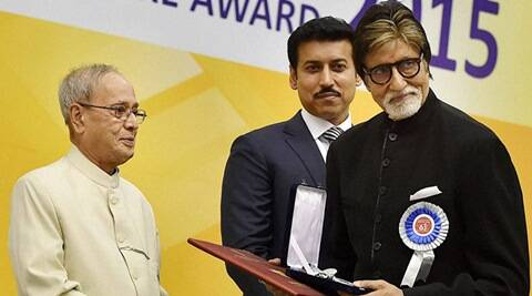National Awards: Amitabh Bachchan touched by President Pranab Mukherjees speech