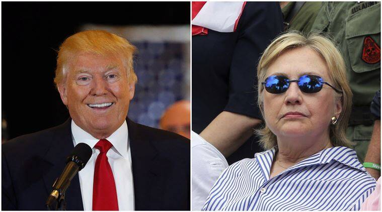 Image result for Hillary and Donald Trump Campaign