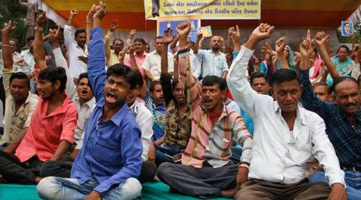Image result for dalit in gujarat get their land