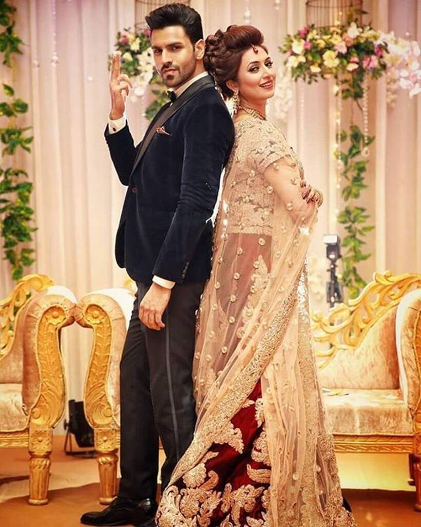 Image result for divyanka tripathi and vivek dahiya wedding events