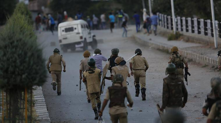Image result for kashmir 'War Zone'  Indian