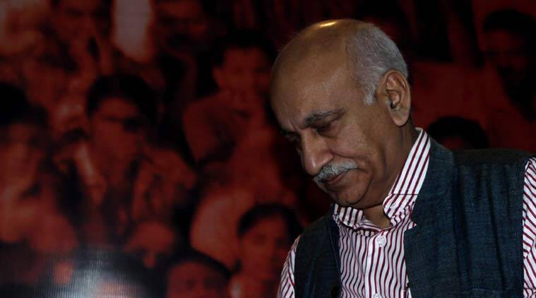 #MeToo campaign: Six women speak up, accuse Minister M J Akbar of sexual harassment when he was Editor