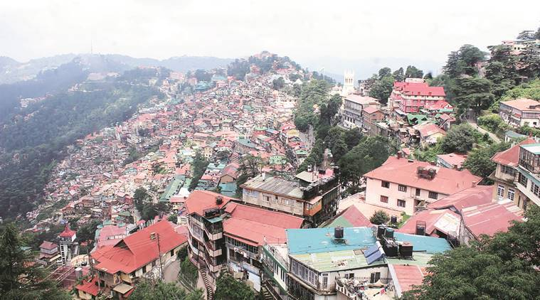 Downhill Story Building Violations In Shimla The Indian
