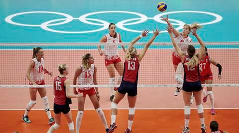 Serbian women's volleyball team knocks out US favorites at ...